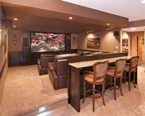 room design builder theater room bar houzz