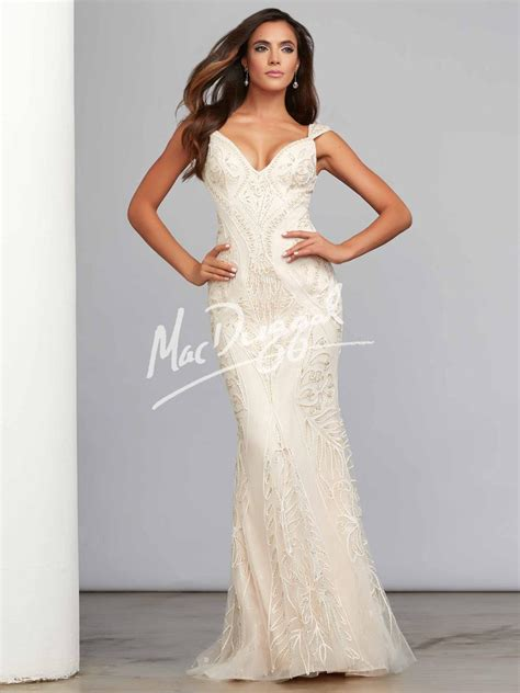 Mac Duggal Evenings 51007C Mac Duggal Evening Diane & Co  Prom Boutique, Pageant Gowns, Mother