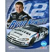 Ryan Newman NASCAR Driver Car 12 Company Sponsor ALLTEL Print