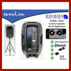 Edison professional p a speaker system