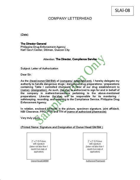 Authorization Letter Sle For Documents Authorization Letter For Clearance 28 Images Sle Authorization Letter Clearance Serversdb