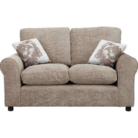 argos sofas buy home 2 seater fabric sofa mink at argos co