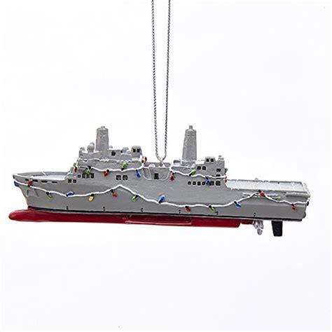 kurt adler us navy ship ornament