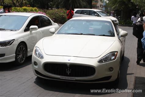 maserati bangalore maserati granturismo spotted in bangalore india on 05 04 2013