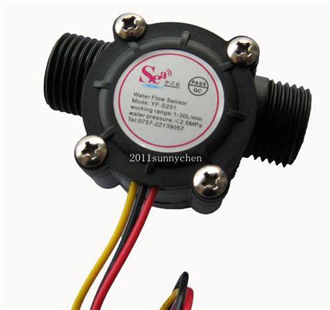 G 12 Water Flow Sensor Sensor Aliran Air buy wholesale flowmeter from china flowmeter