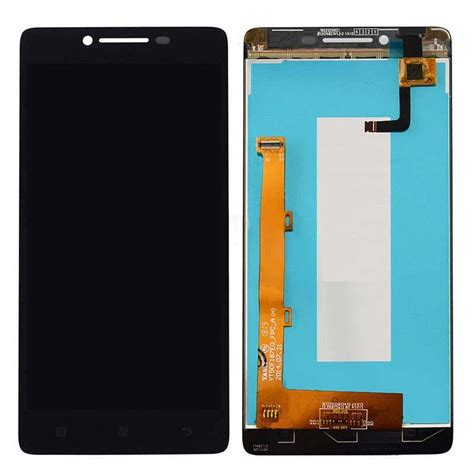 Lcd Lenovo A6010 Complete Touchscreen lcd with touch screen for lenovo a6000 black by maxbhi