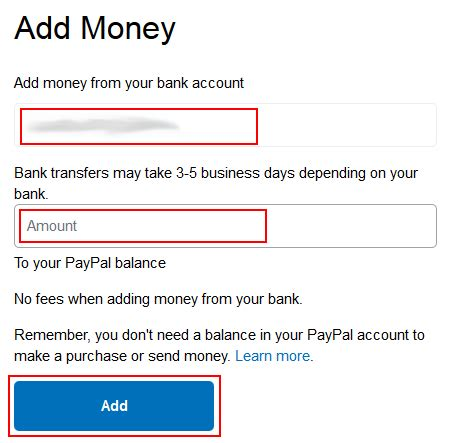 How To Add Money To Amazon Account With Gift Card - how to transfer money to paypal step by step tutorial with pictures