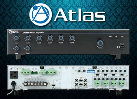 Mixer Audio Terbaru audio mixer lifier atlas sound aaphd series paket