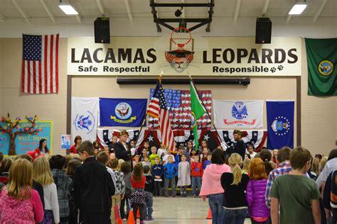 Camas School District Calendar Lacamas Honors Our Veterans Lacamas Heights Elementary
