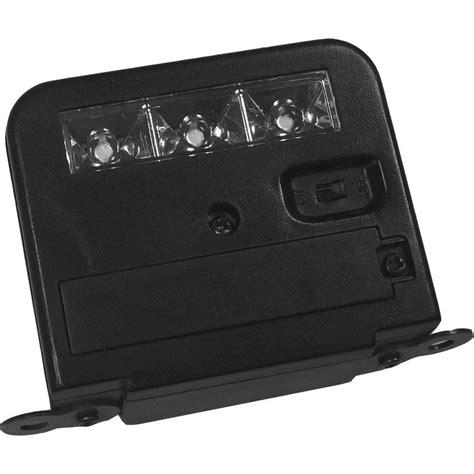 best solar deck lights homebrite solar wunder light deck mount outdoor black