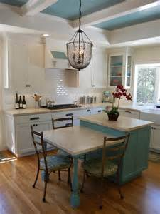 Island Kitchen Table Combo Island Table Combo Kitchen Design Ideas Remodels Amp Photos