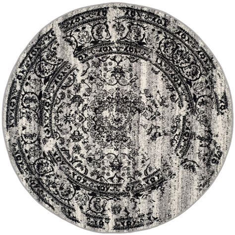 10 X 10 Black Area Rug - safavieh adirondack silver black 10 ft x 10 ft