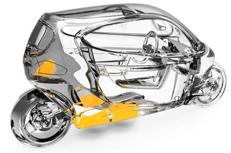 c 1 gyroscopically electric motorcycle stays balance at a