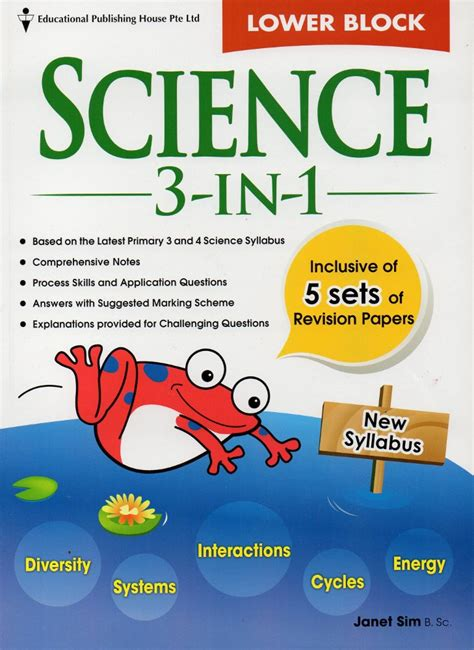 Block Science 3 In 1 jual beli promo bulan in buku lower block science 3in1