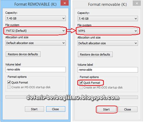 format flashdisk standar cara mengetahui flashdisk asli atau palsu kupas komputer