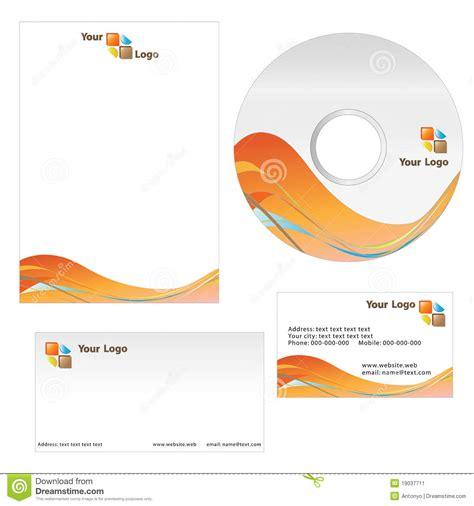 business card and letterhead vector business card letterhead template stock vector image