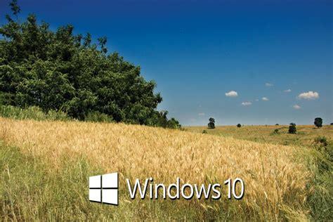 imagenes windows 10 paisajes paisaje con el logo de windows 10 67351