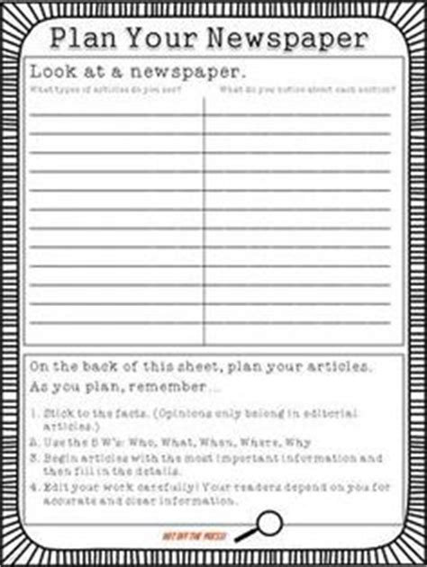 student newspaper template newspaper template doc drinks newspaper