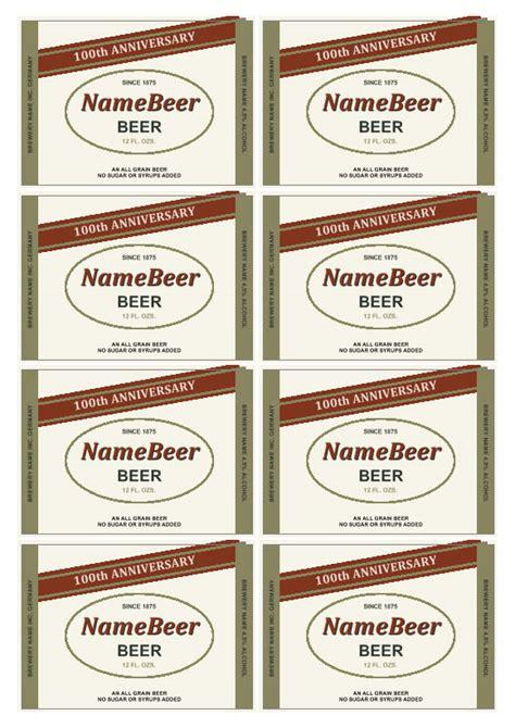 beer label maker downloadedit  beer bottle