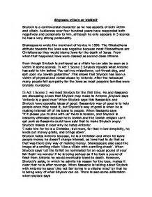 Shylock Victim Or Villain Essay Introduction by Shylock Villain Or Victim Gcse Marked By Teachers