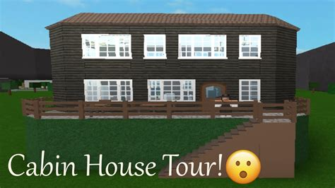 homesteader s cabin v 2 updated free house plan tiny roblox cabin house tour bloxburg youtube