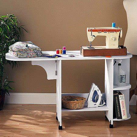 White Sewing Desk White Sewing Table Walmart Com