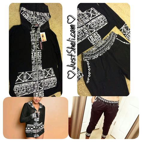Hoddie Semi Blazer An semi sheer aztec hoodie and joggers sewing projects burdastyle