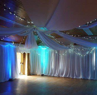 ceiling drapes with fairy lights ceiling drapes and overhead drapes for weddings