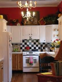 Red And Black Kitchen Curtains by Colorful Cottage Decorating Ideas In Red Yellow Blue Black
