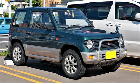 nissan pajero mini mitsubishi pajero mini the free encyclopedia