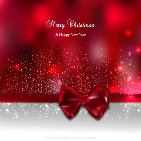 dark red christmas card background  bow   freevectors  deviantart