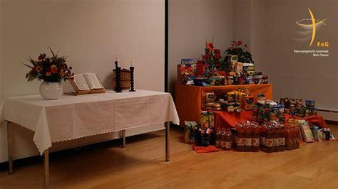 tafel hattersheim erntedank spende f 252 r die tafel feg taunus