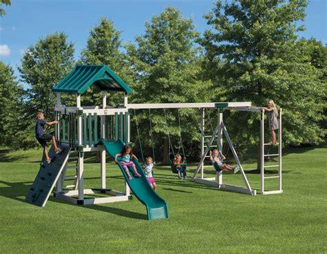 swing set tower 25195 pkg b55 5 adventure world playsets