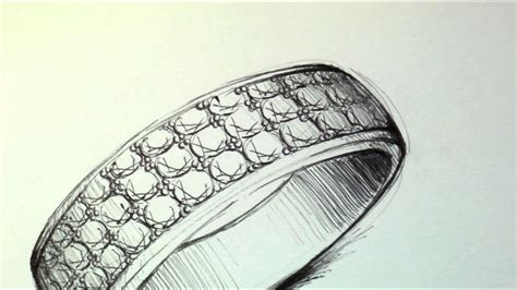 Eheringe Zeichnen by Pave Ring Speed Drawing