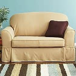 jc penney slipcovers com jc penney suede 2 pc loveseat slipcover soft