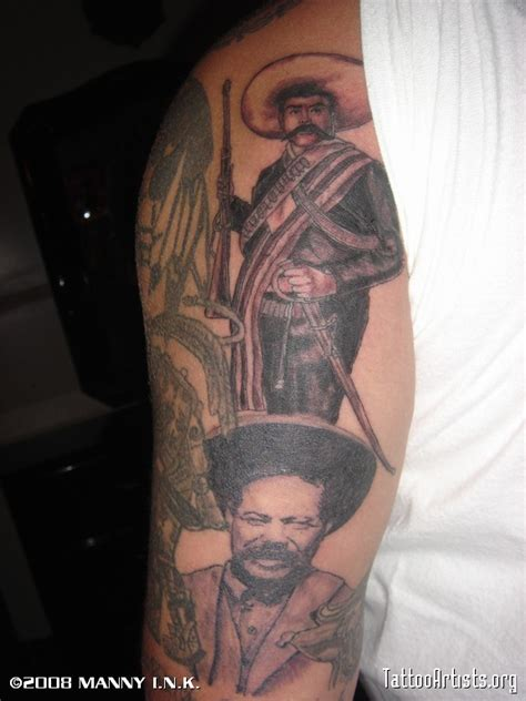 pancho villa tattoo the gallery for gt emiliano zapata and pancho villa tattoos