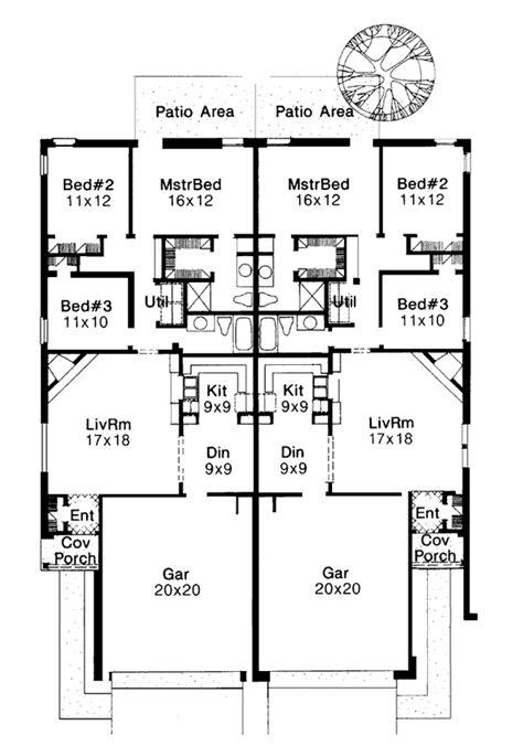multi family plan 76379 at familyhomeplans com multi family plan 92222 at familyhomeplans com