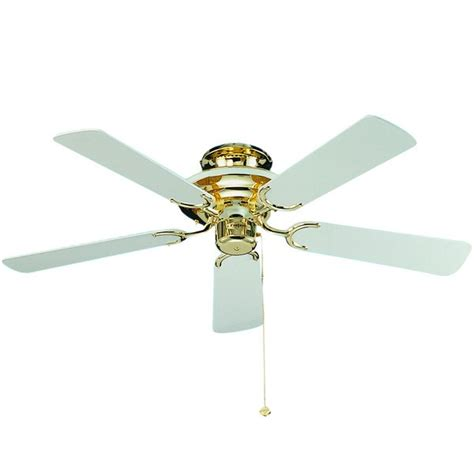 ceiling fan with cord fantasia mayfair 42 inch pull cord polished brass and