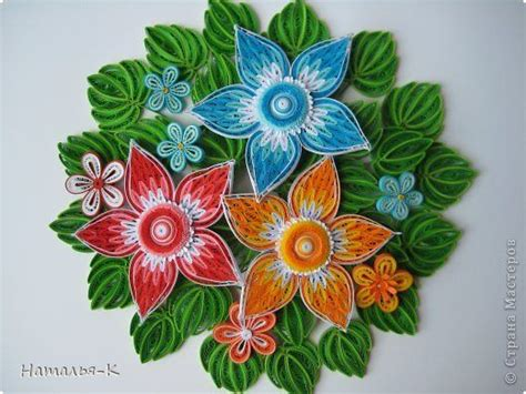 quilling easy tutorial quilling band and flower on pinterest