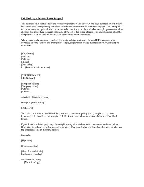 Business Letter Format With Attachments sle business letter with attachment the best letter