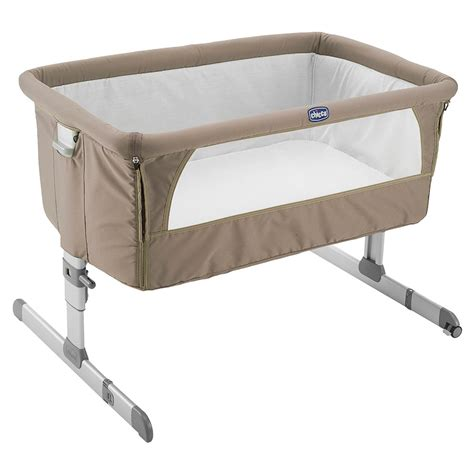 Bedside Cribs by Chicco Next 2 Me Bedside Crib Dove Grey 171 O Sullivans