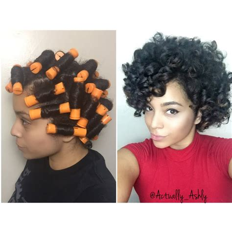 how to do a perm rod set on a twa perm rod set natural hair youtube