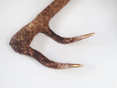 How To Make Paper Mache Antlers - how to make deer antlers my diy deer antlers