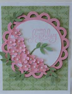 happy birthday flower bouquet card stampin up by