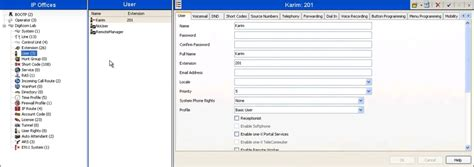 avaya one x reset voicemail password creating a new user extension on avaya ip office