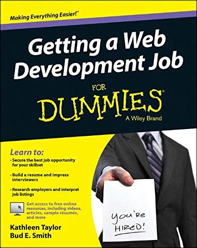 getting your for dummies books pdf epub getting a web development for
