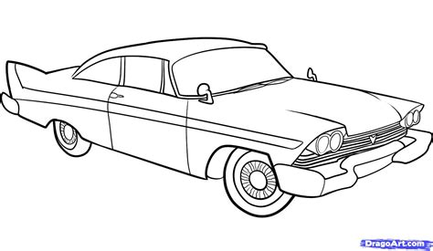 vintage cars drawings how to draw an old car old car step by step cars draw
