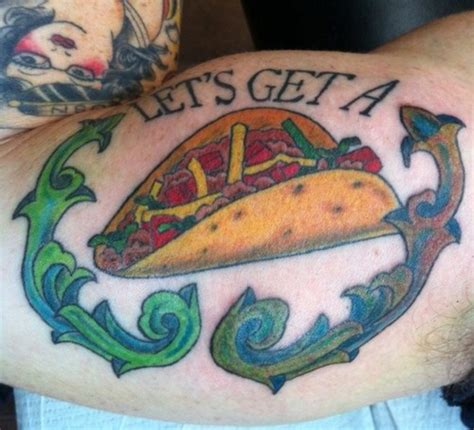taco tattoo 19 badass taco tattoos the taco cleanse