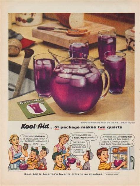 kool aid vintage ad  cent package