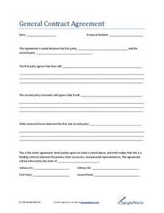 general contractors contract template general contract agreement hashdoc